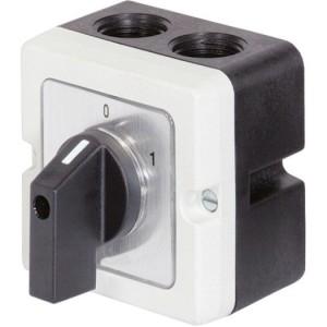 Nockendrehschalter, Ein-Aus bis 20A, 3-polig (M10)