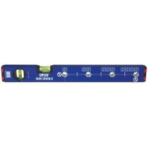 OPUS Elektriker-Wasserwaage blau, 120 cm, mit 8 Markier-