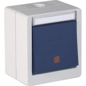 OPUS-Res-Schalter, Heizung, bl IP55