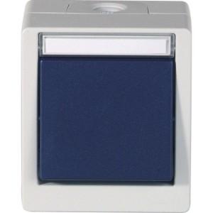 OPUS-Res-Schalter, Kreuz, bl IP55