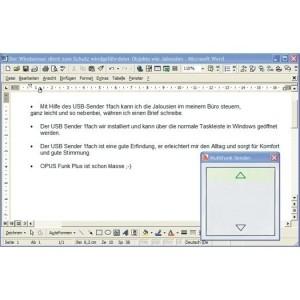 OPUS-greenNet, USB-Sender 1-fach