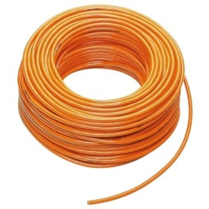 PUR-Leitung H05BQ-F 3G1,0 orange, 50m Ring, RAL-2003,