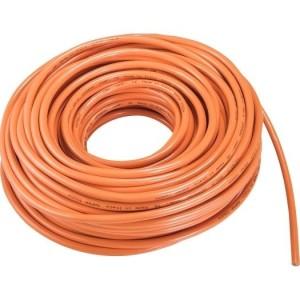 PUR-Leitung H07BQ-F 5G6,0 orange, 50m Ring, RAL-2003,