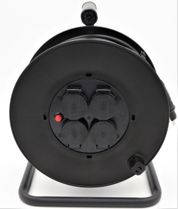 PUxI Kabeltrommel PICO H07RN-F 40m 1,5mm² schwarz