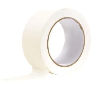 PVC- Abdeckband quergerillt, weiß