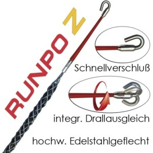 RunpoZ 9-15mm Kabelziehstrumpf