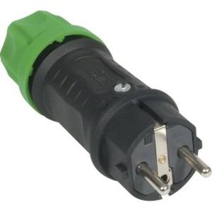 SIROX-Profi-VG-St., sw/grün IP44, zweifaches Erdungssystem