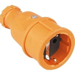 SIROX-Profi-Vollgummi-Kupplung IP20, orange