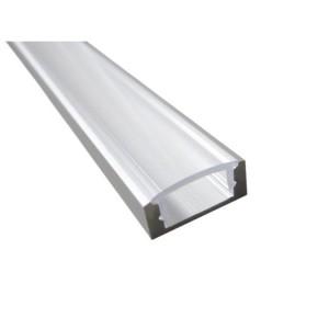 SLim-Alu-Profil, 15mm, 2m Aluminium eloxiert