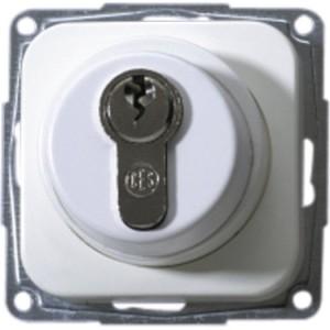 Schlüsselschalter OPUS, ohne Zylinder, mit Zentralplatte