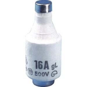 Schmelzeinsatz, DII, E27, 16A 500V, träge/gL, grau