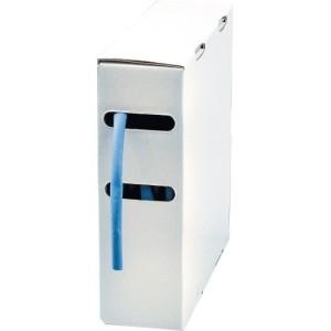 Schrumpfschlauch 24,4 mm blau, Länge 5m
