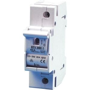 Sicherung-Lasttrennschalter DO 2-63A,1-polig