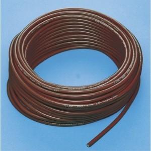 Silikon-Schlauchleitung 3x1,5 Mantel rotbraun, 50m Ring