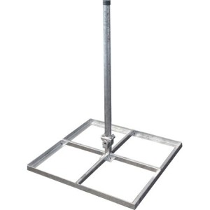 Stahl-Flachdachständer verzinkt
