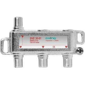 Stammleitungsverteiler, 3-fach mit Richtkoppler, F-Technik
