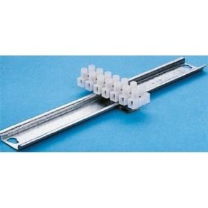 Steuerleitungsklemme für Norm- Tragschiene 35mm bis 6qmm Quer