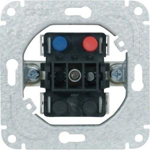 Taster: Schließer 1-p, 10/16A 250V, 50Hz, Steckklemmen