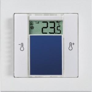Temperatursensor55,Displ.,rw 2-fach Taster, 0..+40°