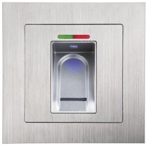 UP-Fingerprint-Sensor Edelstahl, mit IR-Fernbed.
