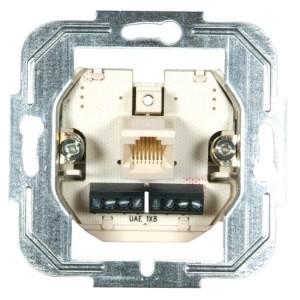 UP-Modular-Anschlußdose 8-/8-polig Einzeldose
