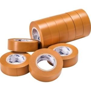 VDE-PVC-Isolierband, braun Stärke=0,15mm, Breite=15mm,
