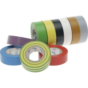 VDE-PVC-Isolierband, farbig Stärke=0,15mm, Breite=15mm,