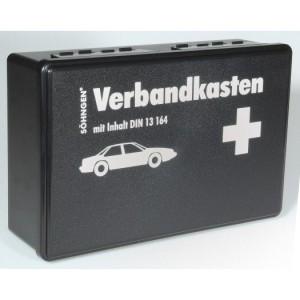 Verbandskasten nach STVZO DIN 13164, schwarz