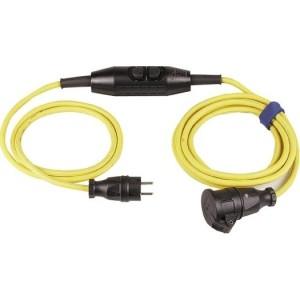 Verl.H07RN-F 3G1,5, 4,5m gelb H07RN-F 3G1,5 qmm gelb