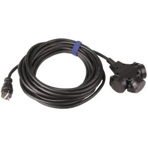 Verl.H07RN-F 3G2,5, 10m sw H07RN-F 3G2,5 qmm schwarz