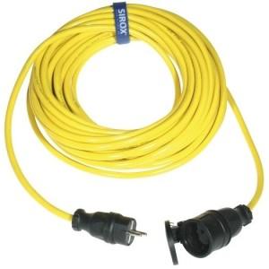 Verl. N07V3V3-F, 3G1,5, 25m gelb, VG-St. + Kpl.