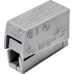 WAGO-Leuchtenkl. bis 2,5qmm,gr 105°C