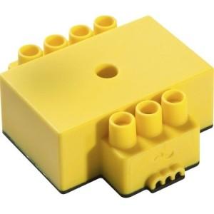 dS-Klemme L, gelb/Licht Schalt-Aktor, Leuchten