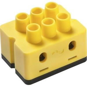 dS-Klemme M, gelb/Licht Schalt-Dimm-Aktor, Leuchten