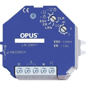 gN Aktor Stromstoß- Schaltrelais UP, 2 polig L,N