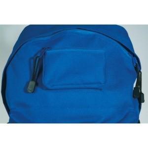 gut drauf-Rucksack  Basic  Nylon, reflexblau mit Logo