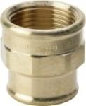 Rotguss Muffe reduziert Typ 3240 (Variante: 1/2x3/8)