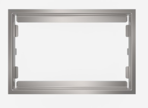 SANIT WC-Blendrahmen 6mm Edelstahl poliert  SG706/SK706