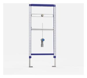 SANIT Urinal -Element INEO für Aufputz - Druckspüler BH 1120mm