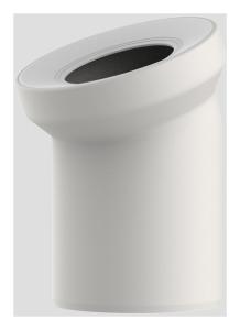 Sanit WC-Anschlussbogen DN100 pergamon 22 Grad