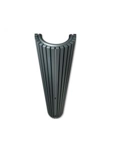 Vasco Carre Halbrund CR-O Designheizkörper