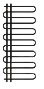 MERT Tersse  Design-Badheizkörper Weiss (Varianten:: RAL 9016 Verkehrsweiss Breite:500 Höhe:1000 leistung 75/65 Grad 392 Watt)