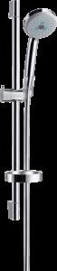 Hansgrohe Croma 100 Brauseset Multi EcoSmart 9 l/min mit Brausestange 65 cm und Seifenschale