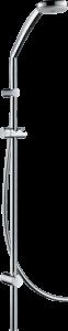Hansgrohe Croma 100 Brauseset Multi mit Brausestange Unica Reno Lift 105 cm