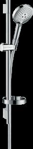 Hansgrohe Raindance Select S Brauseset 120 3jet mit Brausestange 65 cm und Seifenschale