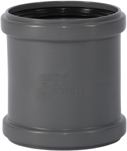 HT safe Doppelmuffe HTM (Variante: DN 110)