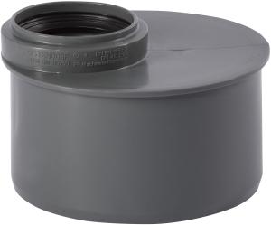 HT safe Reduktion HTR exzentrisch, kurze Ausführung (Variante: DN 110 x 50)