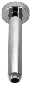 Aquaconcept Deckenarm Stick (Oberfläche: verchromt / 150 mm)