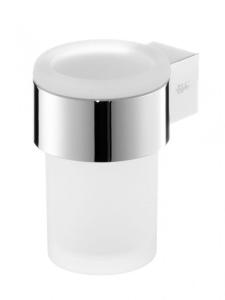 Aquaconcept Kross Glashalter 1-fach Wandmontage (Oberfläche: verchromt)