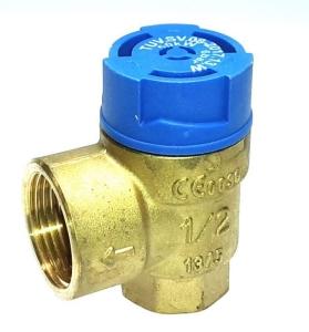 Afriso Membran-Sicherheitsventil MSW für Wasser (Variante: Rp 1/2xRp 3/4, 6 bar)